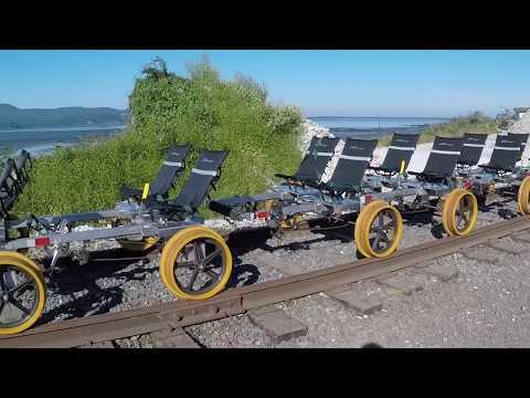 Oregon Coast Railriders. Bay city to Tillamook. July 8th, 2017