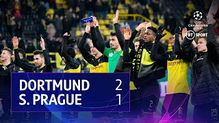 Dortmund vs Slavia Prague (2-1) | UEFA Champions League Highlights
