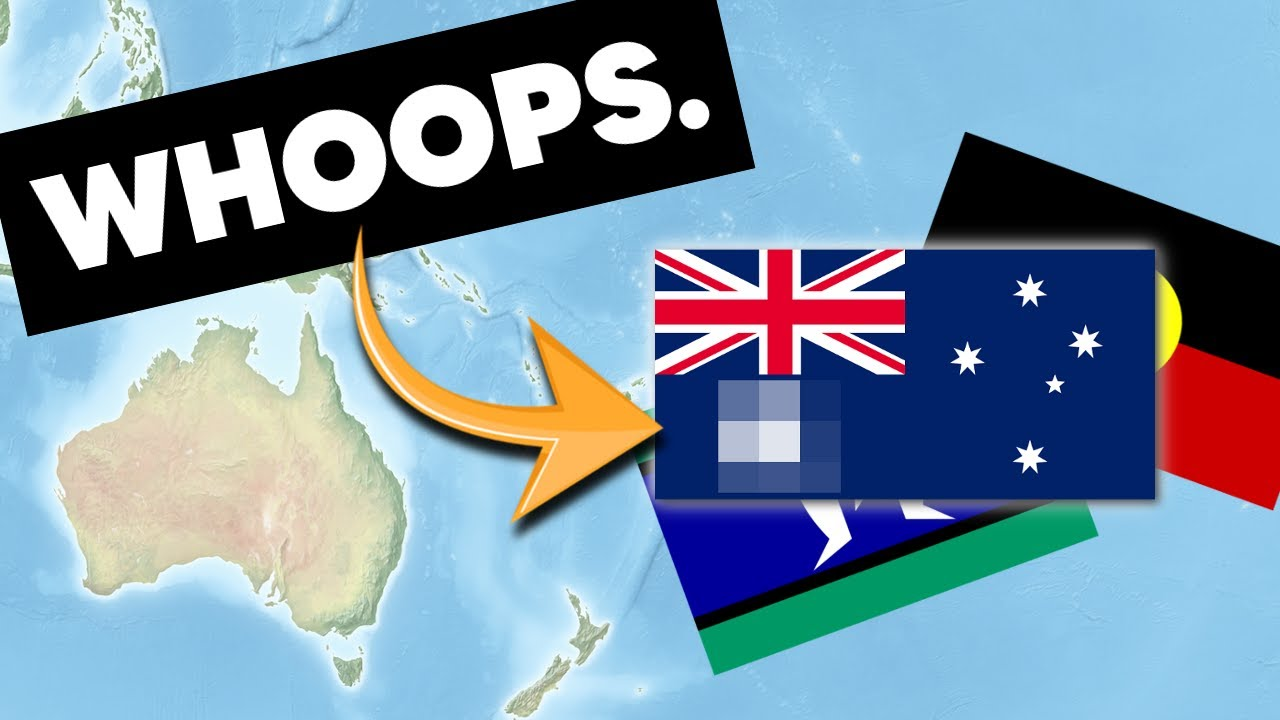3 Times Australia Messed Up With Its Own Flags