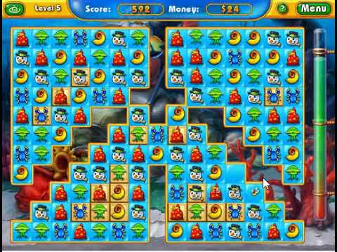 Fishdom Frosty Splash (PC Browser Game)