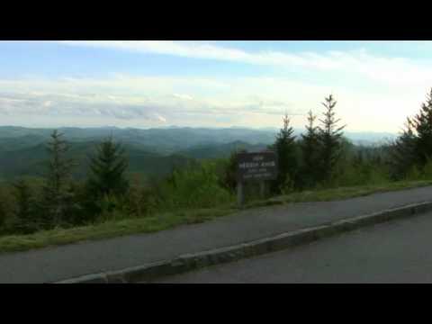 Herrin Knob Overlook Blue Ridge Parkway