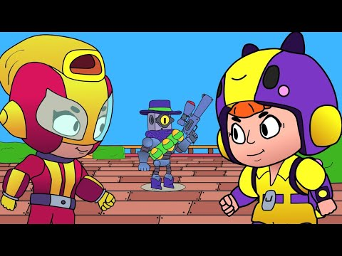 Brawl Stars Animation - Ricochet & Bea vs Max (Parody)