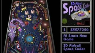 3D Pinball Space cadet song