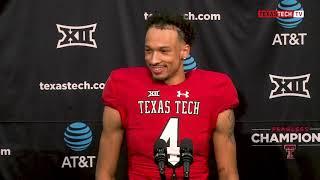 Texas Tech Football vs. Kansas: Players presser | 2018