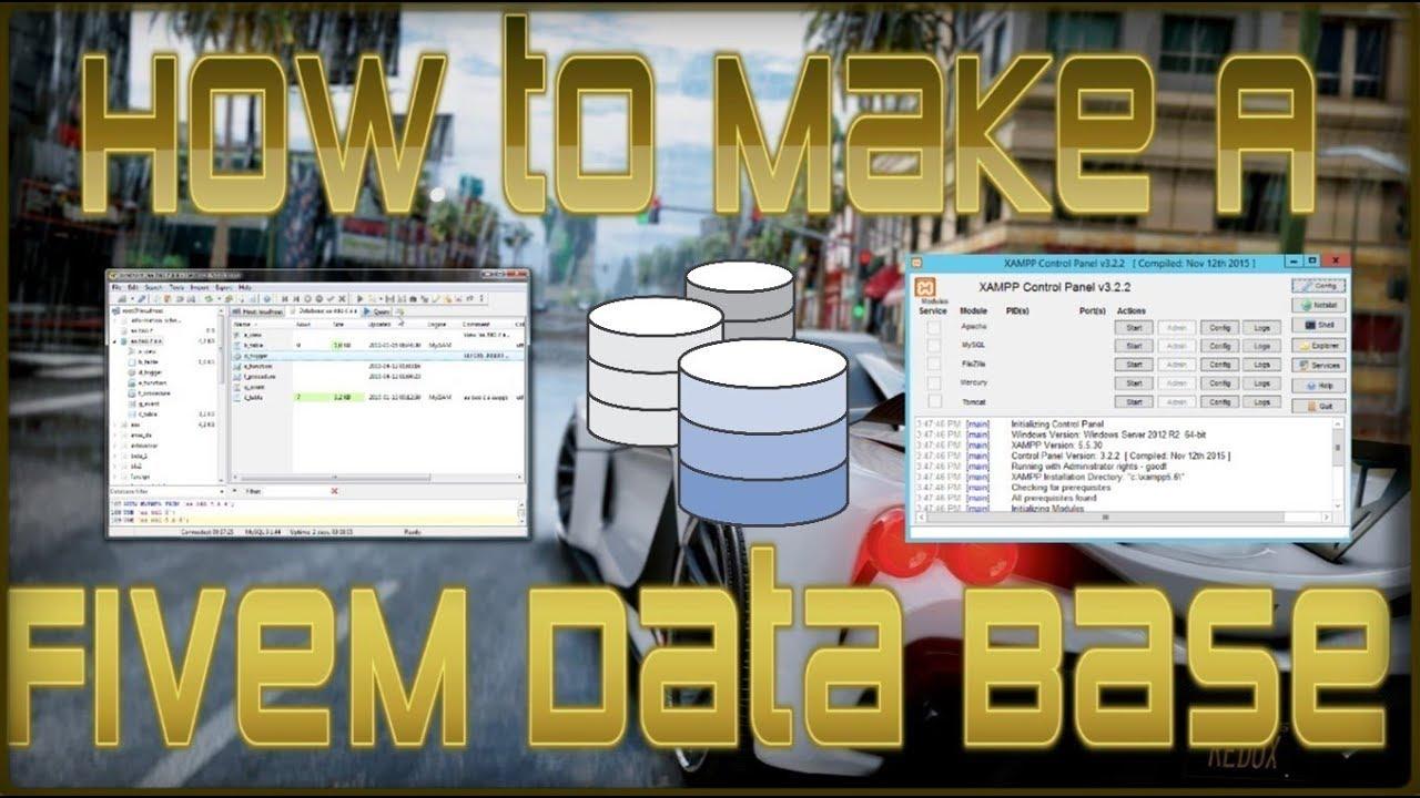 How To Make A FiveM Data Base!