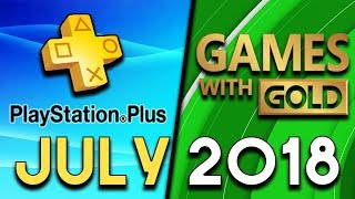 PlayStation Plus VS Xbox Games With Gold - JULY 2018