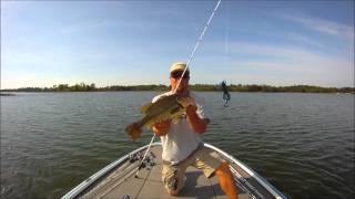 Jig Fishing for Bass in Deep Water
