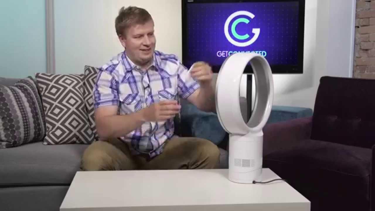 dyson cool am06 a design desktop fan getconnectedtv youtube. Black Bedroom Furniture Sets. Home Design Ideas