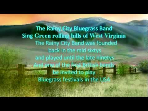 The Rainy City Bluegrass Band  Sing The Green rolling hills of West Virginia 1980