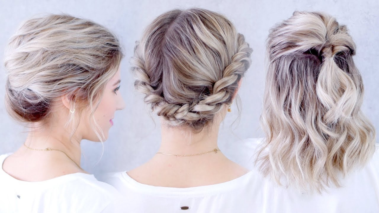 Heatless Hair Styles: Underrated Super Easy Heatless Hairstyles For Short