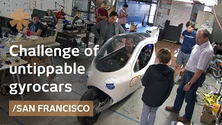 2-wheeled untippable EV gyrocar from SF automaker startup