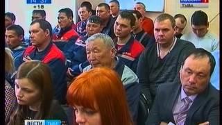 Глава Тувы Ш Кара оол встретился с коллективом Тываэнерго
