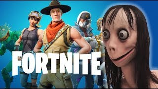 *REAL* A Boy Gets Called By MOMO Whilst In A Game!! (Fortnite Battle Royale)