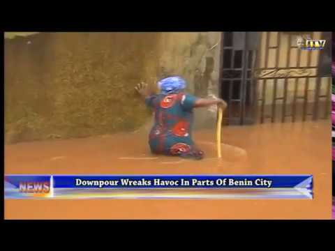 Downpour wreaks havoc in parts of Benin