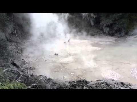 Hell's Gate Geothermal Park, Rotorua, NZ