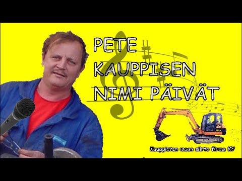 Pete Kauppisen Nimi Päivät [KARAOKE]