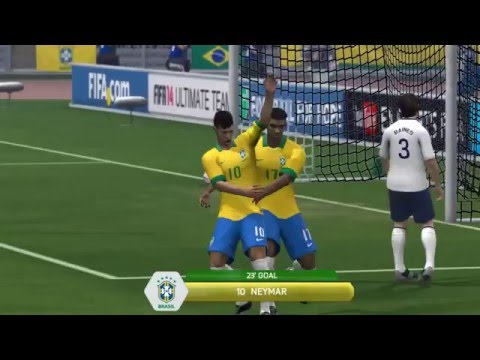 Fifa 2014 - Brazil vs England (International Game)