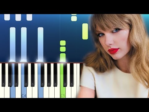 Taylor Swift - ME! Piano Tutorial (ft. Brendon Urie Of Panic! At The Disco)