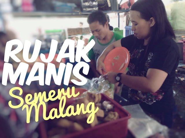 Rujak Manis Buah Semeru Malang