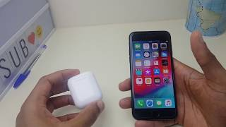 How to Pair Airpods with iPhone 7 - Bluetooth