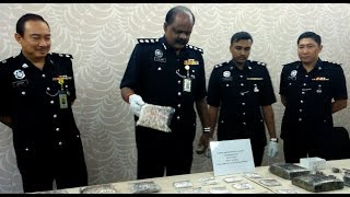Perak cops nab drug-dealing couple
