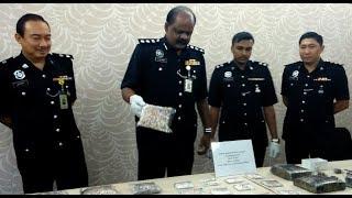Perak cops nab drug-dealing couple