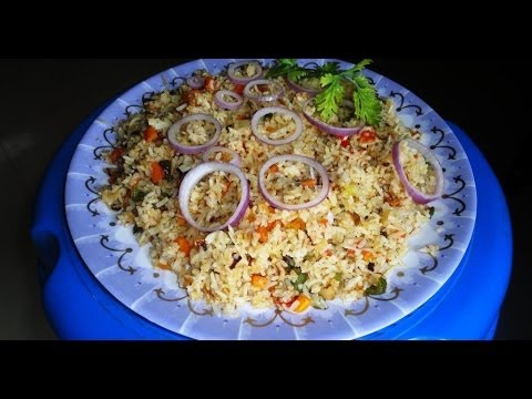 Vegetable fried rice recipe how to make vegetable fried rice in vegetable fried rice recipe how to make vegetable fried rice in andhra style ccuart Choice Image