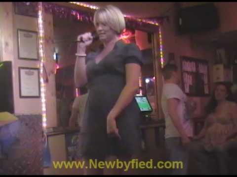 Karaoke Panama City Beach FL at Newbys Backdoor Lounge with NIght Al (Part 2)