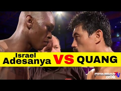ISRAEL ADESANYA v NIU XIAOQIANG - KICKBOXING FIGHT WITH KO FINISH