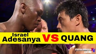 ADESANYA v QUANG FIGHT