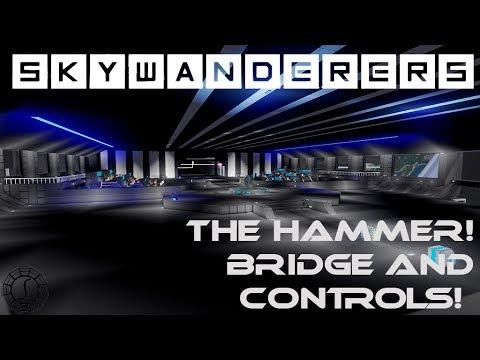 Skywanderers The Hammer! - Bridge and Control Chair! - Skywanderers Pre-Alpha Gameplay