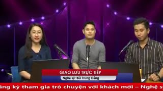 Nghệ sĩ Bùi Trung Đẳng giao lưu với thính giả Mekong FM