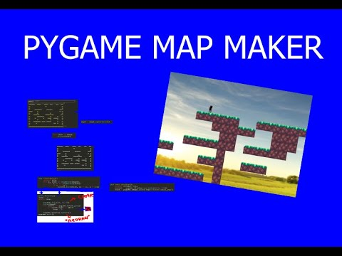 Pygame Map Maker