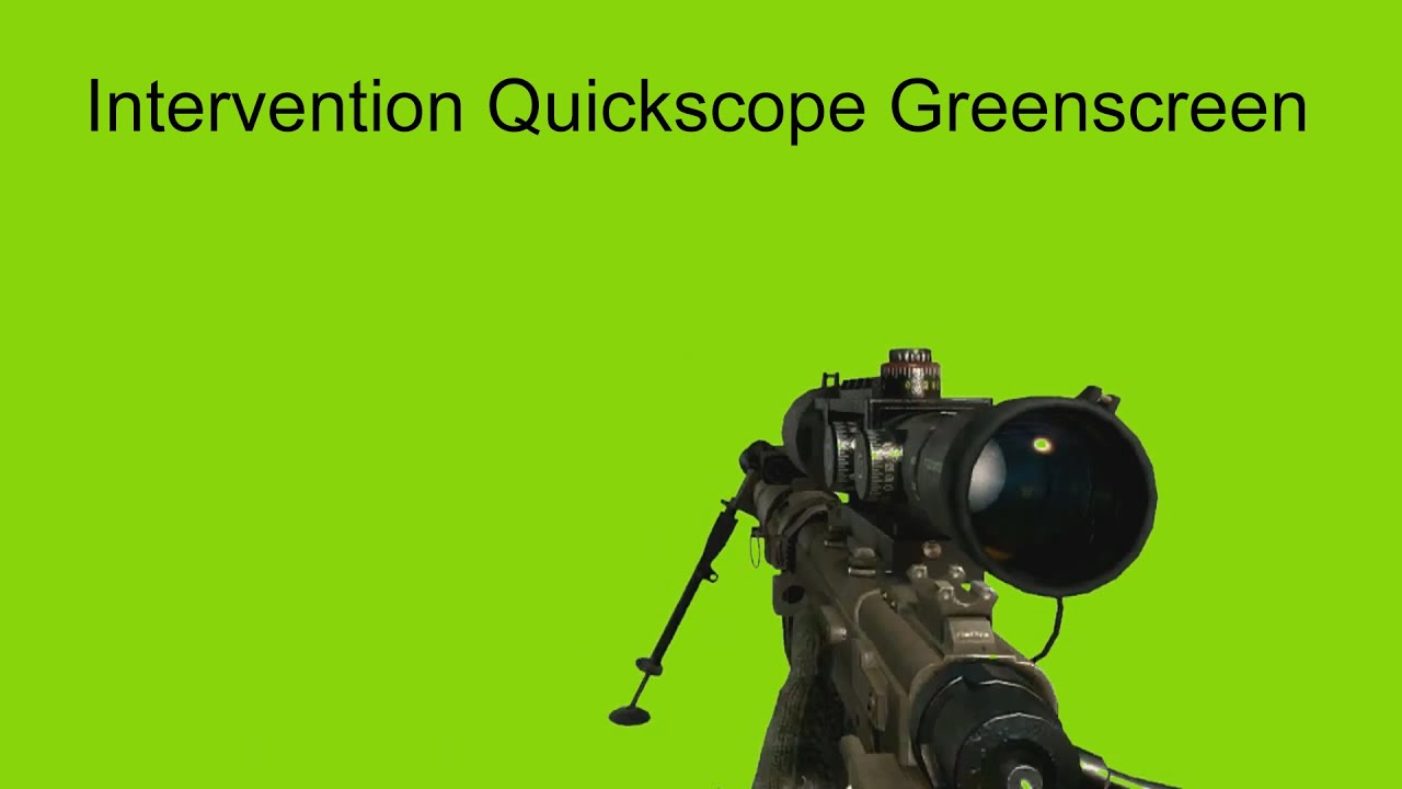 Quickscope gif quickscope greenscreen with sound youtube