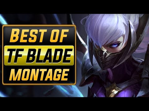"""TF Blade Montage """"Rank 1 NA"""" (Best Of TFBlade)   League of Legends"""