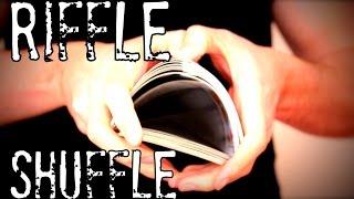 Riffle Shuffle - Efektní míchání karet // TUTORIAL