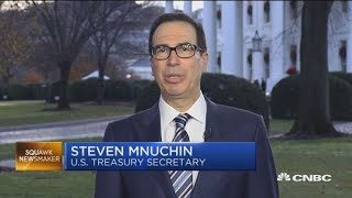 Watch CNBC's full interview with Treasury Secretary Steven Mnuchin