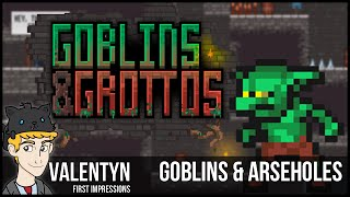 Goblins and Grottos PC Gameplay 4K 60 FPS