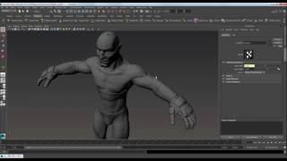 009 Ригинг персонажа в Maya  (Interactive animation cource)