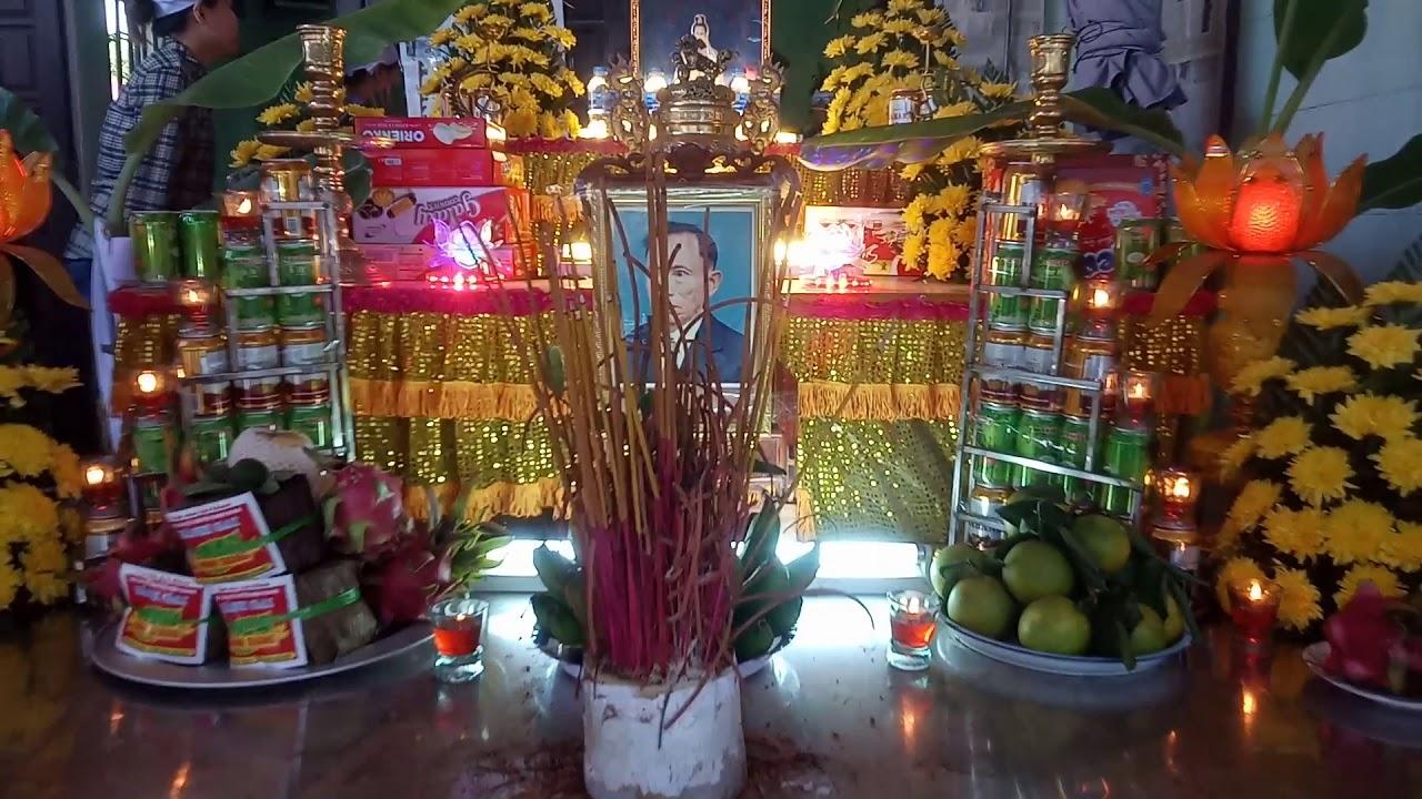 Lễ tang cụ ngo văn hướng hưởng thọ 84 tuổi đong Cao dong xuyên