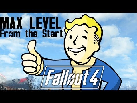 Fallout 4 MAX Level Right Out of the Vault! (PS4 / Xbox One)