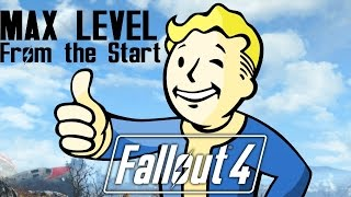 Fallout 4 MAX Level Right Out of the Vault PS4 Xbox One