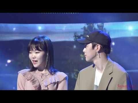 Soo Hyun AKMU X Hyunbin JBJ Cute Moment