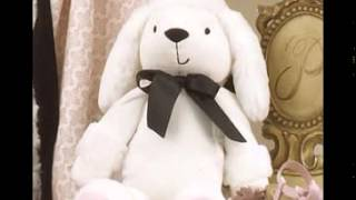 Gabrielle Baby Crib Bedding By Petit Tresor.wmv