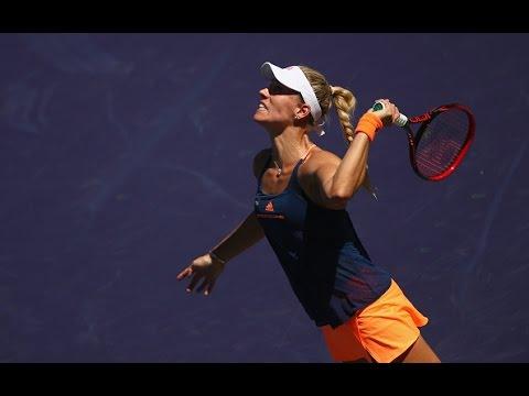 2017 BNP Paribas Open Third Round | Angelique Kerber vs Pauline Parmentier | WTA Highlights