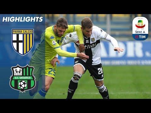 Parma 2-1 Sassuolo | Gervinho & Alves Give Parma Win Over Sassuolo | Serie A