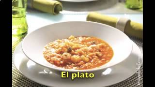 Испанский Видео словарь   с субтитрами Тема КУХНЯ  Cocina уроки испанского языка