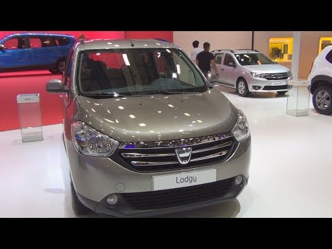 Dacia Lodgy Laureate 1.5 DCi (2015) Exterior And Interior