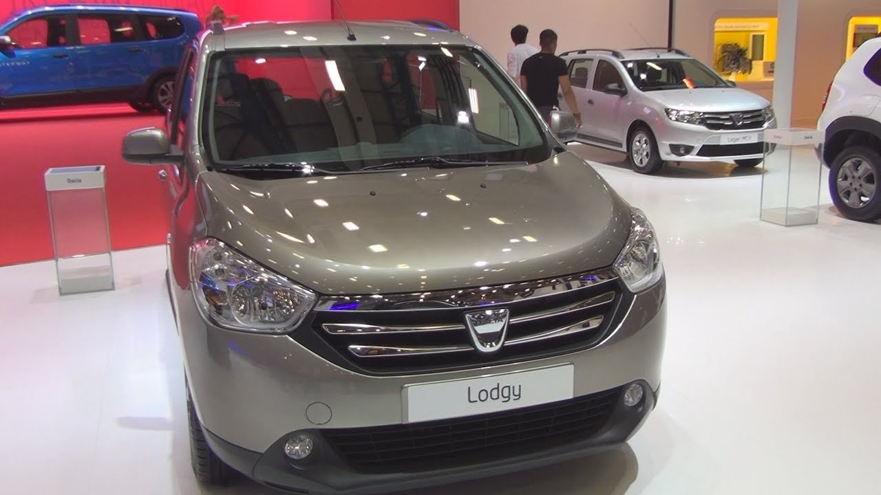 dacia lodgy laureate 1 5 dci 2015 exterior and interior
