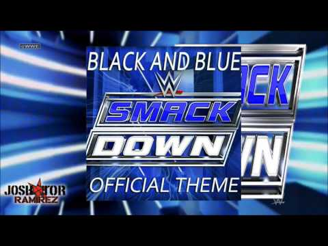 WWE Edit V1 & V2: Black and Blue (SmackDown Theme) by CFO$ - 2 DL with Custom cover